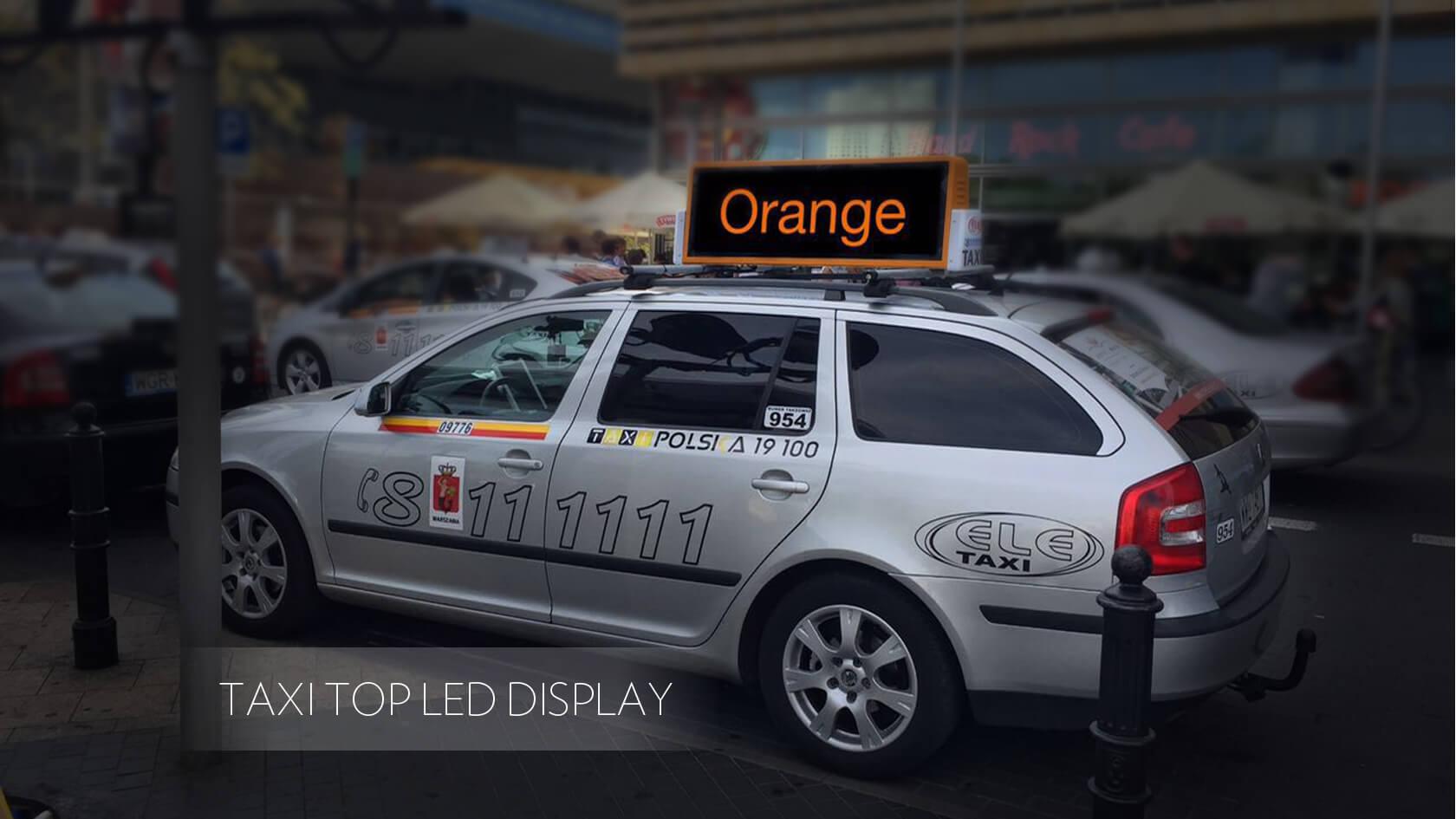 Portable LED Display