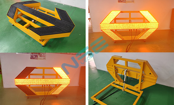NSE LED arrow board