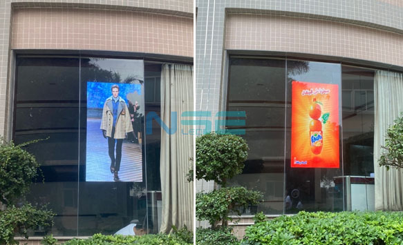 Shop window LED poster officially launched