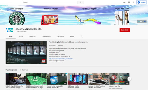 NSELED youtube account updates from time to time, please subscribe