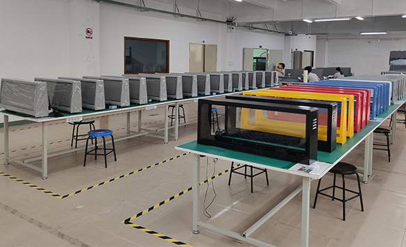 NSE a batch of Digital Advertising LED Display Ready for Shipment