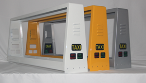 Top Quality Coating are applied on NSE Taxi Display