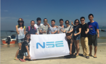NSELED TEAM SPENT TWO DAYS OUTWARD BOUND IN THE HUIZHOU BEACH