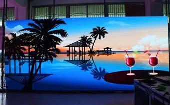 High definition rental type led display