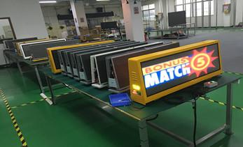 New type electronic media advertising: taxi top LED display