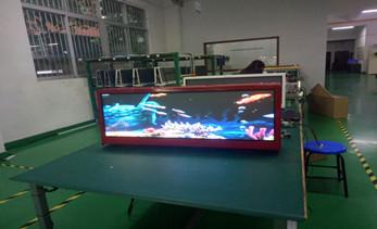 What are the advantages of the taxi top LED display