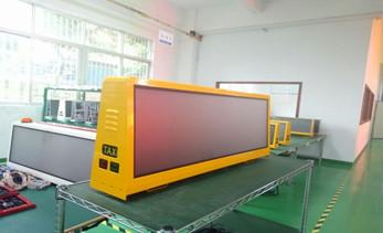 Taxi top LED display, praised by users
