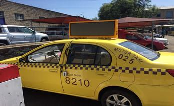 Development trend of taxi top LED display