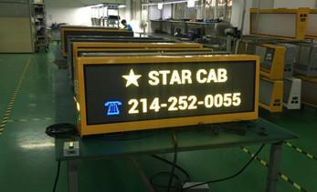 Unique advantages of taxi top LED display
