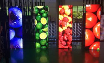 What are the features of digital LED poster