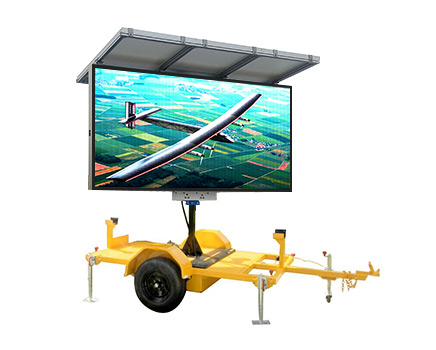 Graphic LED Trailer
