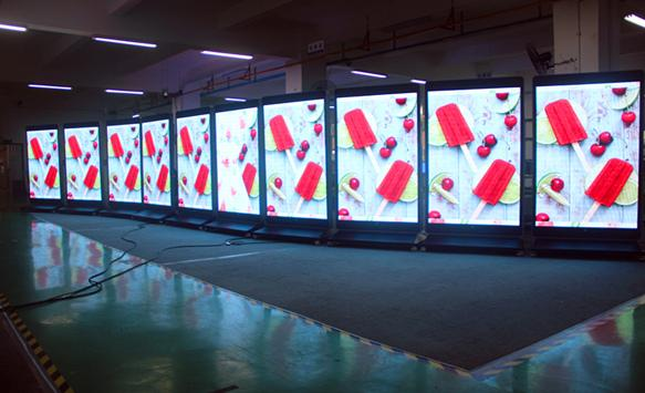 LED Display Pollution Prevention
