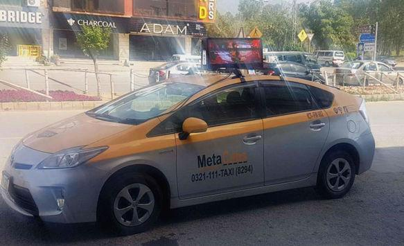 NSE LED Launched HD P3 Taxi LED Screen in Pakistan