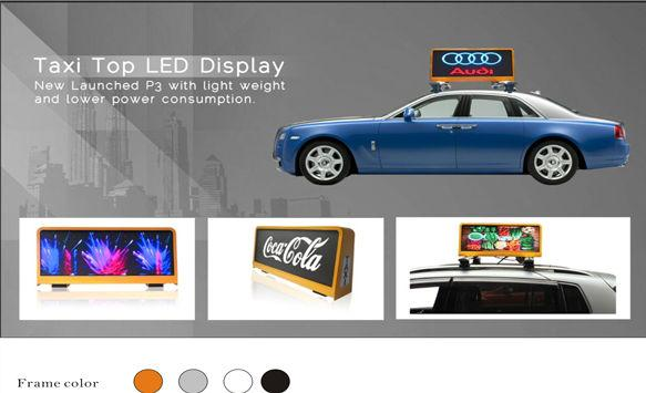 Key Features for Taxi Advertising LED Display