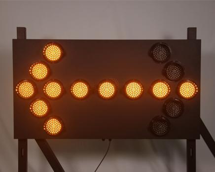 LED Arrow Boards Warnings