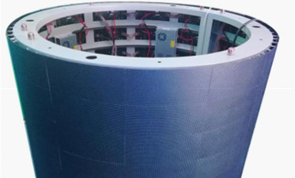 Outdoor Flexible LED Display has the features