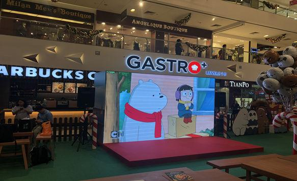 HD P2.976 LED Display Project in Singapore