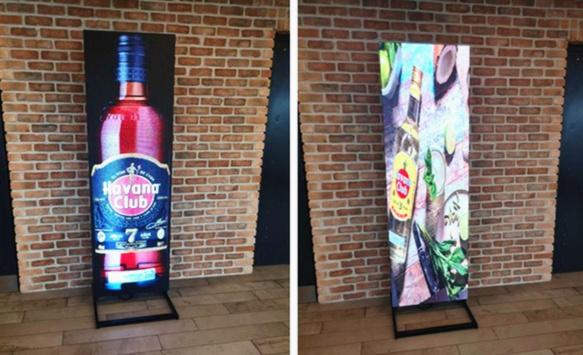 LED Poster Display are popular with polish customers