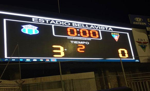 P10 Stadium LED Display in Ecuador