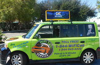 Taxi LED Display In USA