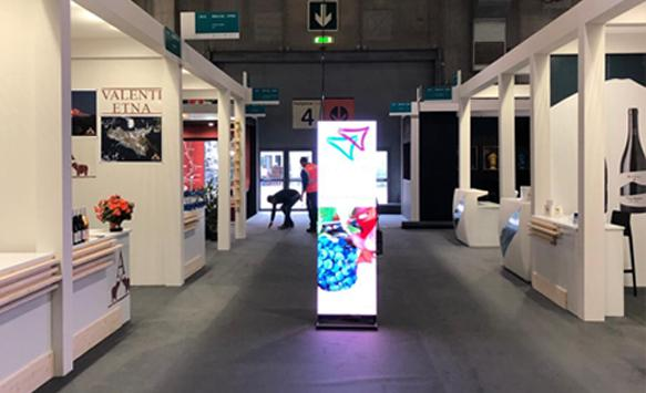 Digital LED Poster on 2019 Vinitaly Wine Exhibition