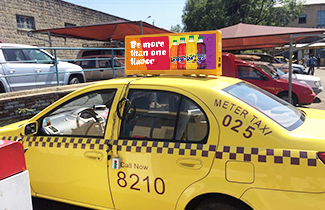 Taxi Roof LED Sign In Australia