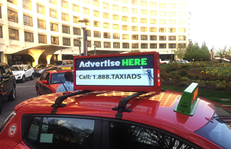 NSE LED Group Taxi Top Advertising Display In USA