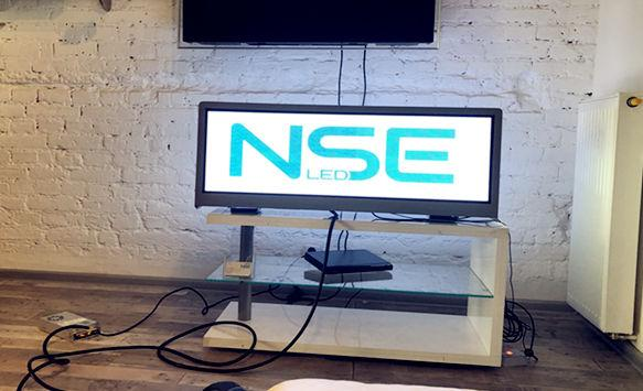 NSE outdoor P2.5 taxi LED display successfully tested in Europe