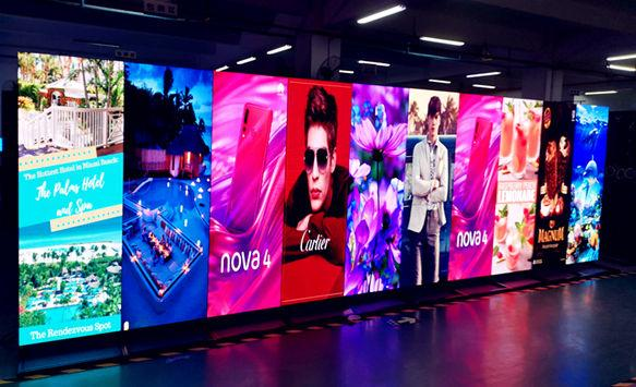 What is difference between traditional printing banners and digital LED poster