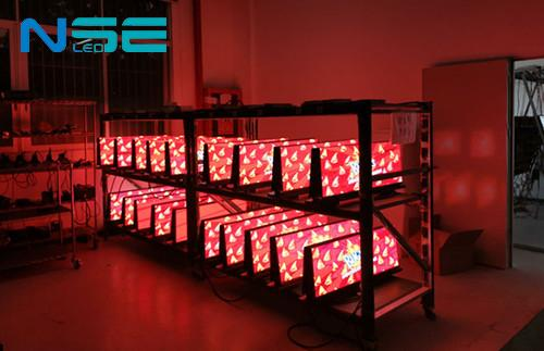 NSE 150pcs Taxi Top LED Display is  Undergoing Aging