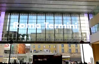 Italy transparent LED display for airport