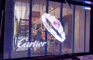 USA glass LED display