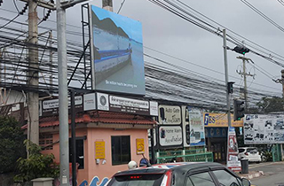 Thailand outdoor P6 high brightness LED billboard