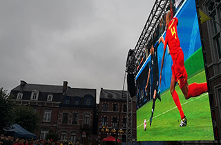 Belgium outdoor P4.81 rental screen fo event