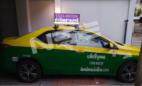 NSE 100PCS P3 Slim Taxi Top LED Display in Thailand