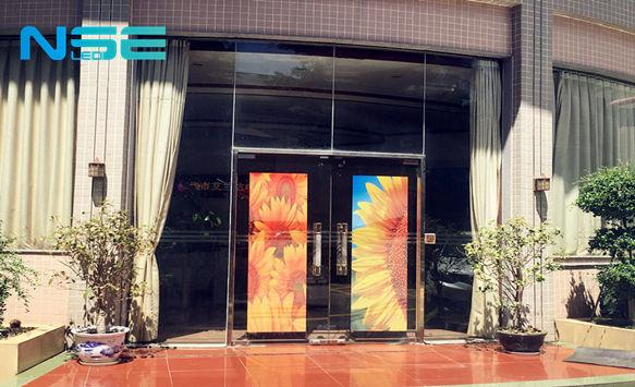 Outdoor Digital LED Poster for Glass Window Advertising