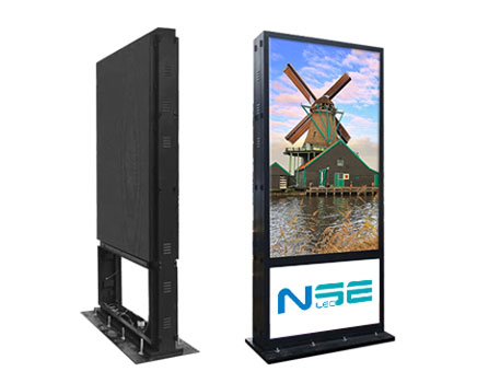 Outdoor LED Totem Display