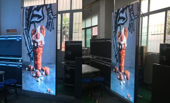P3 high brightness glass window LED display