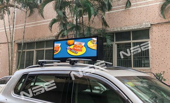 The big discount of  P3.33 taxi top led display