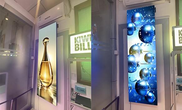 Different installation methods of NSE LED digital led poster