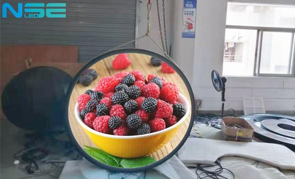 New outdoor P4 Circle LED display  for retail shops