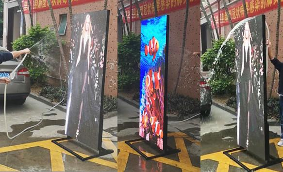 Outdoor p3 Led Poster Waterproof Test
