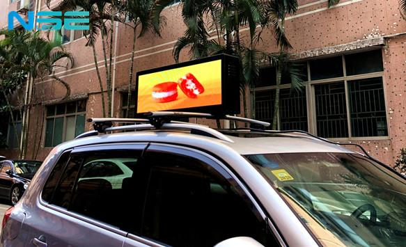 Updating p3.33 Taxi Top Led Display