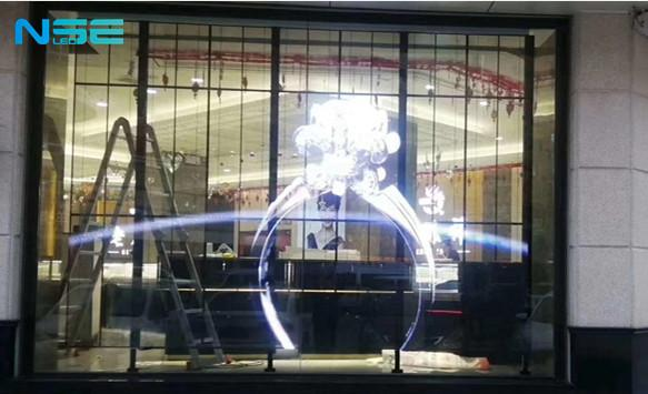 Transparent Led Display for Glass Window