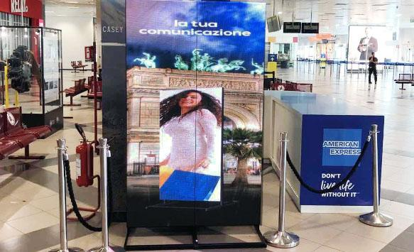 NSE Digital LED Poster Officially Launched at Italy Airport