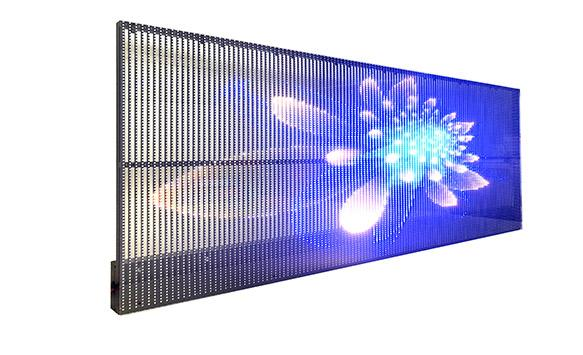 Q&A about transparent car back LED display