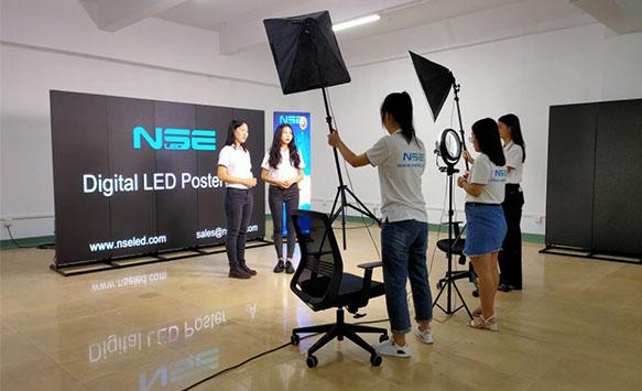 Product photograph and live broadcast preparation